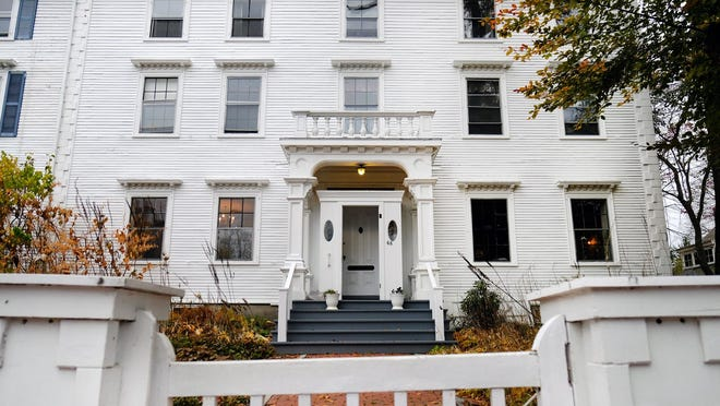 The late Dr. Peter and Nancy Beck left their stately home on Austin Street to the Portsmouth Historical Society. Proceeds from an online estate auction will benefit Strawbery Banke.