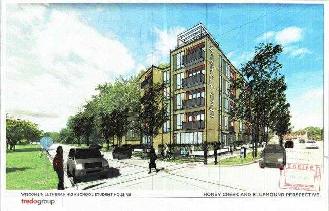Milwaukeeu0027s Wisconsin Lutheran H.S. Proposes 3 Story Dorm, 5 Story Apartment  Building