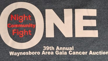 The 2020 Waynesboro Area Gala Cancer Auction has been canceled. PROVIDED LOGO
