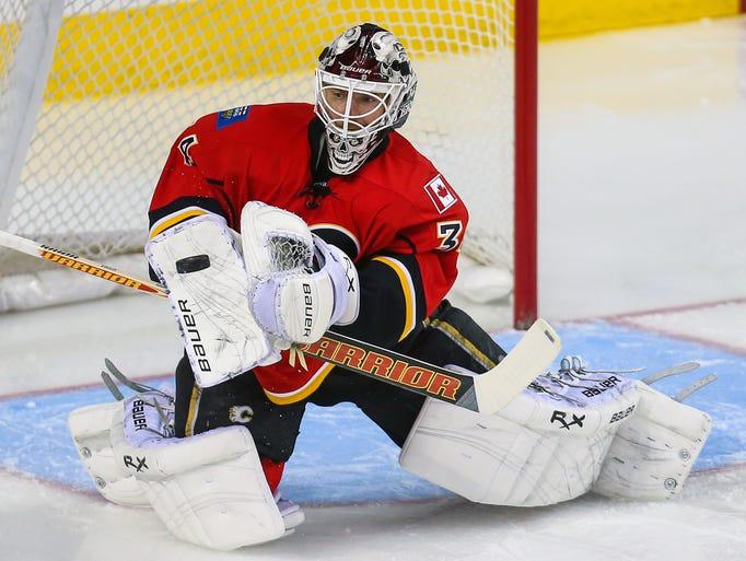 Longtime Calgary Flames goalie Miikka Kiprusoff and Finnish Olympian announced his retirement on Sept. 9.