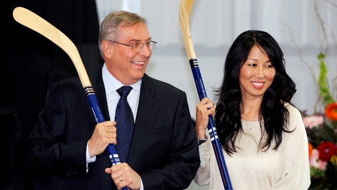 Buffalo Sabres' owner Terry Pegula and his wife, Kim, have made a $1.4 billion deal to buy the Buffalo Bills
