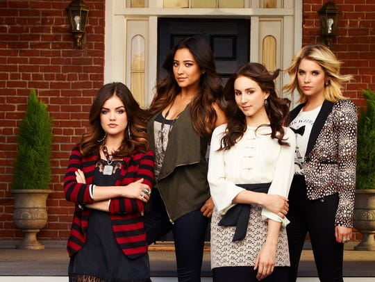 Flashback: The 'Liars' in a promo photo from 2012.