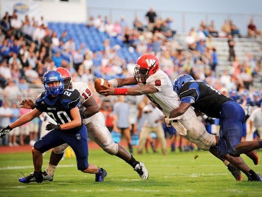 GALLERY: Presbyterian Christian plays West Marion in football season opener