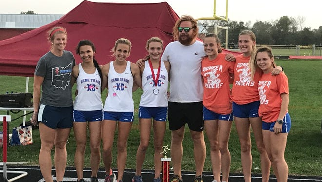 Both Zane Trace's girls and boys cross country teams won the Westfall Invitational Wednesday night in Williamsport.