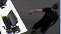 The suspect, seen in surveillance images, is described