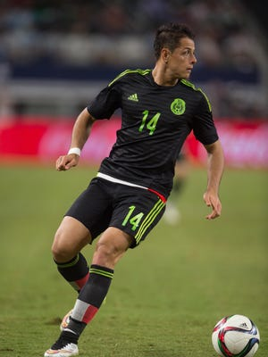Javier Hernandez announced Friday that he will play in this summer's Copa America tournament.