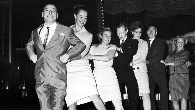 The conga line was created in Miami, which has been heavily influenced by waves of Cuban immigrants.