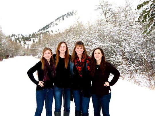 The Herron sisters include, from left, Marca, Molly,