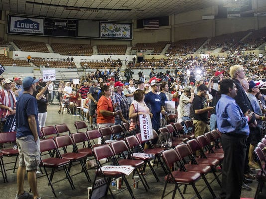 Trump's rally in Phoenix