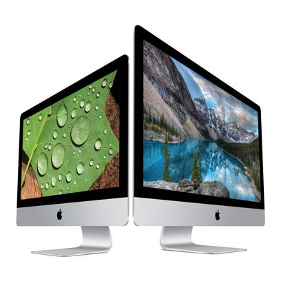 The new iMacs all have Retina