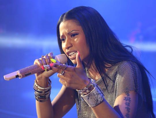 Nicki Minaj at Summer Jam 2014
