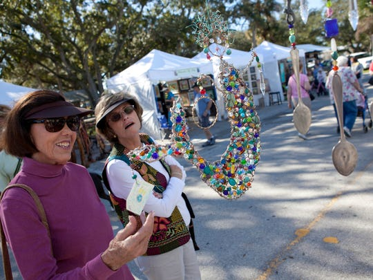 This weekend's Sebastian Riverfront Fine Art and Music Festival features 130 artists.