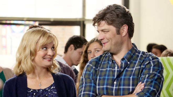 """ABC's 'The Real O'Neals,' starring Martha Plimpton and Jay Ferguson, is one of 26 shows """"on the bubble"""" between renewal and cancellation."""