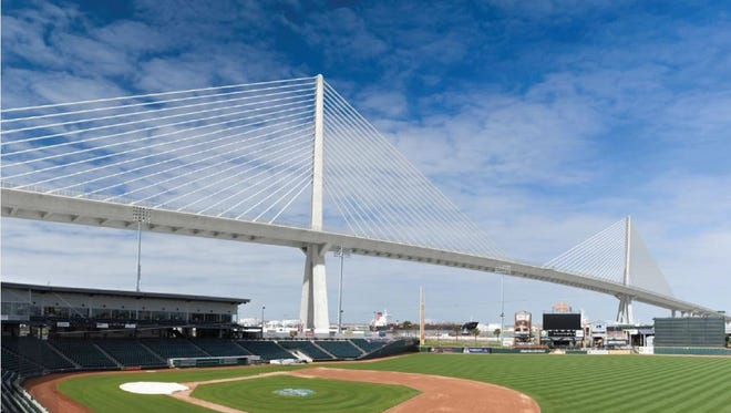 Contributed Rendering The Harbor Bridge will be replaced by 2020.