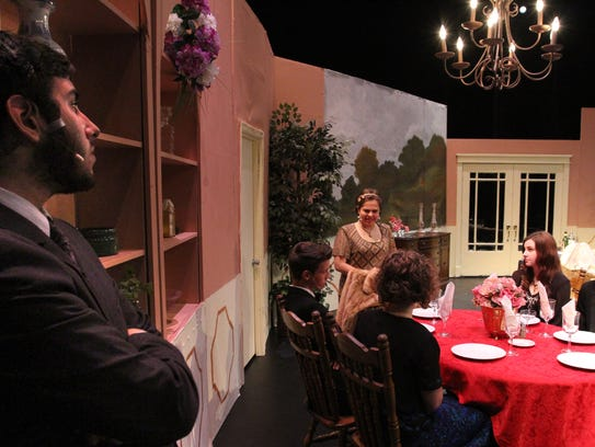 The West Theatre Arts Program cast rehearses its production