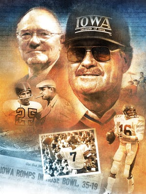 Rose Bowl memories illustration.
