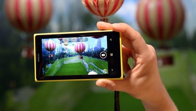 The Nokia Lumia 1020, a Windows Phone with a 41-megapixel camera.