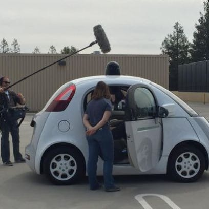 Consumers would prefer a self-driving car that is the product of a team effort from an established automaker and a tech company, according to a new World Economic Forum/Boston Consulting Group survey.