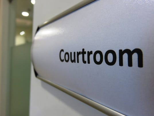 Court room sign