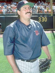 Juan Berenguer during his time with the Minnesota Twins.