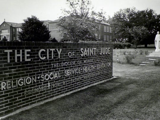 St. Jude sign, 1980