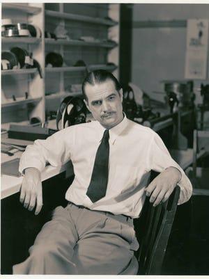 Howard Hughes at RKO Pictures, circa 1950.