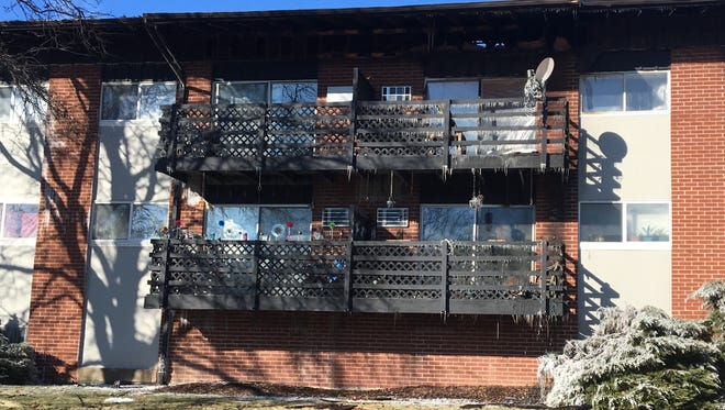 An early morning fire displaced about 75 residents in the 40-unit Morgan Grove Apartments complex near West Morgan Avenue and South 108th Street in West Allis on Saturday.