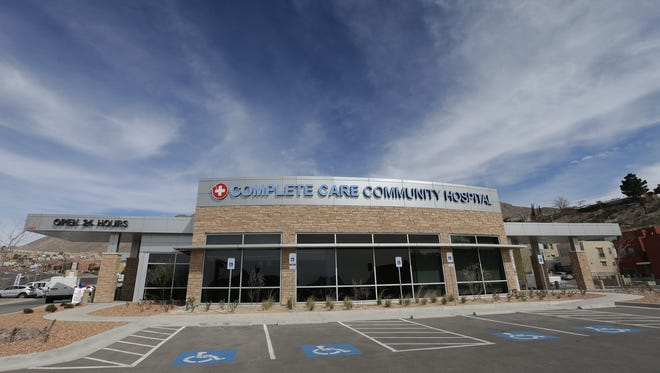 The $10 million Complete Care Community Hospital, which opened in February, closed Aug. 12. It's at 4642 N. Mesa St. in West El Paso.