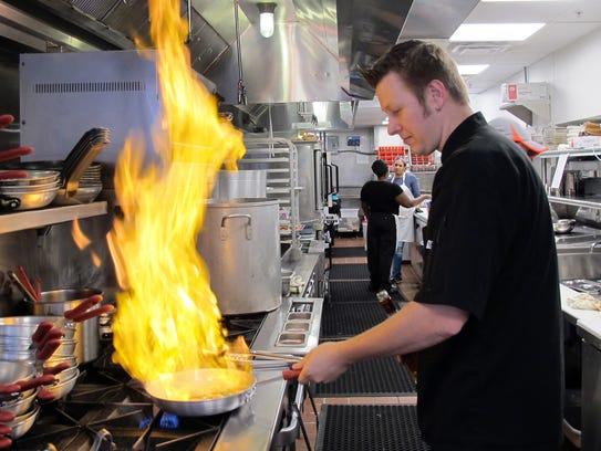 Sea Salt corporate chef Jason Goddard leads the culinary