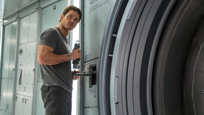 "Chris Pratt stars in Columbia Pictures' ""Passengers."""