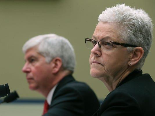 Michigan Gov Rick Snyder Testifies At House Hearing On Flint Water Crisis