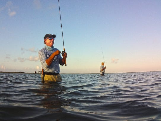 Wade-fishing Coastal Bend bays might require a bit