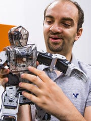 Arizona State University assistant professor of computer science and robotics Heni Ben Amor, talks about robots and how they are affecting employment in the United States.