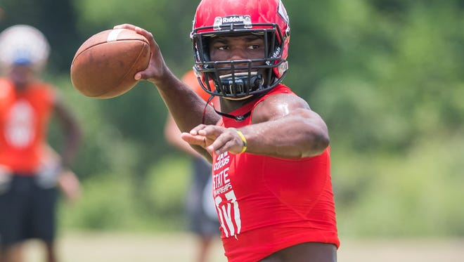 Clinton quarterback Cam Akers was named as the sixth Dandy Dozen.