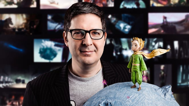 """Hastings-on-Hudson director Mark Osborne and his latest screen hero, """"The Little Prince."""" The two-time Academy Award nominee's journey toward making a big-screen version of """"The Little Prince"""" — based on Antoine de Saint-Exupéry's beloved 1943 illustrated novella — began more than two decades ago."""