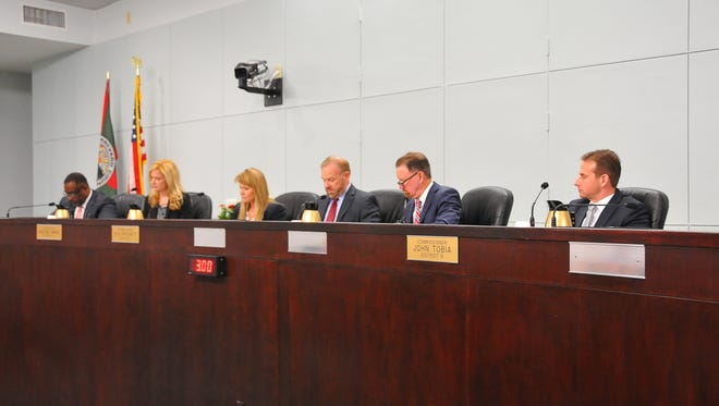 The new Brevard County Commission.