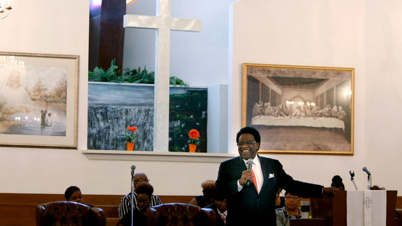 Inside Al Green's Full Gospel Tabernacle church