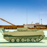 "BAE Systems got a $245.3 million contract to continue producing a test-run of armored tracked vehicles. The M109A7 ""self-propelled Howitzer"" will replace the M109A6 Paladin."