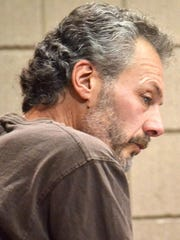 Doug Miron appears in court for sentencing Tuesday in Marinette County  for stalking and other charges related to his obsession with a young woman who rejected his romantic interests.. Kent Tempus/USA TODAY NETWORK-Wisconsin