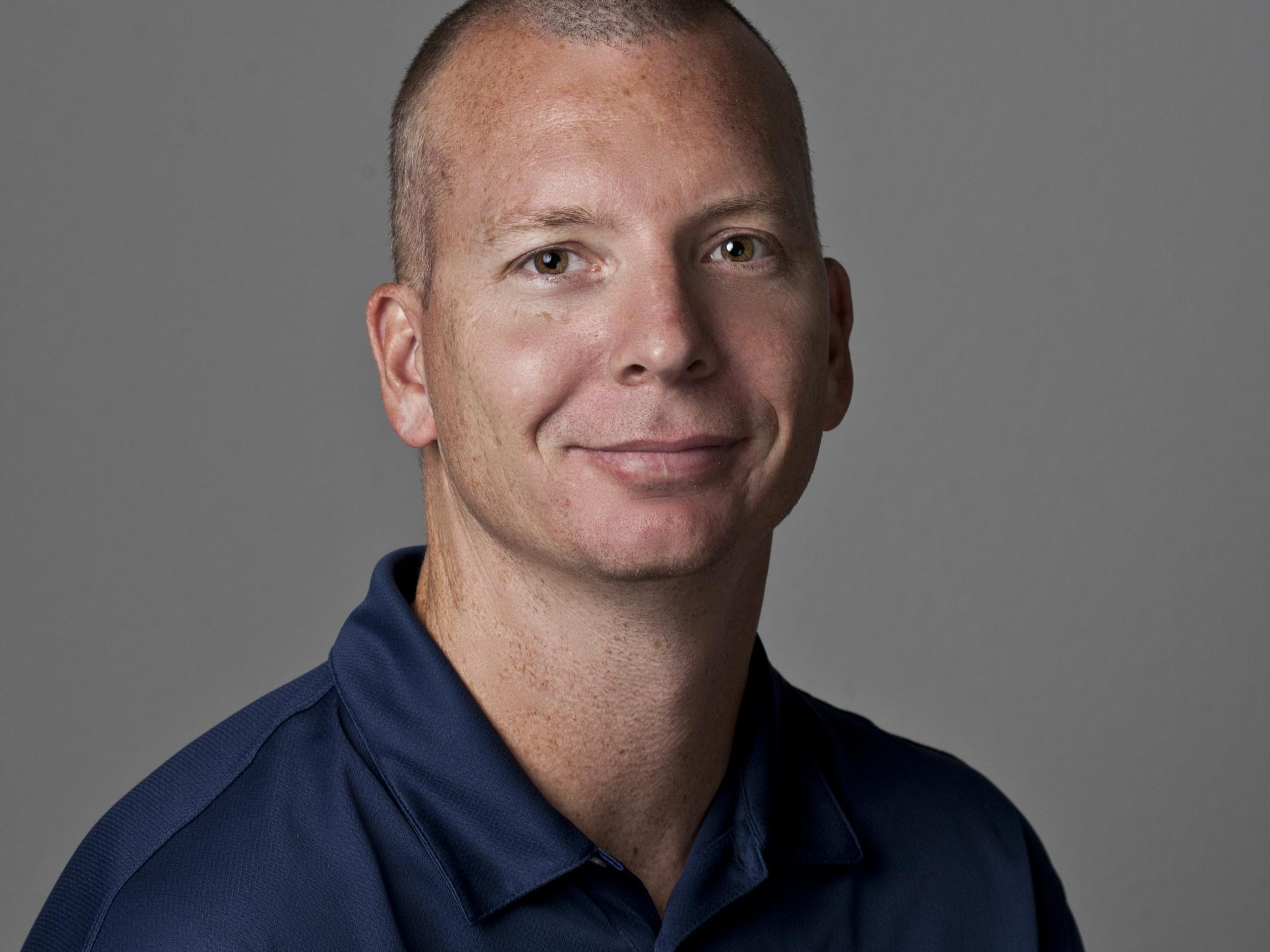 Poudre volleyball coach Tom Hunter.