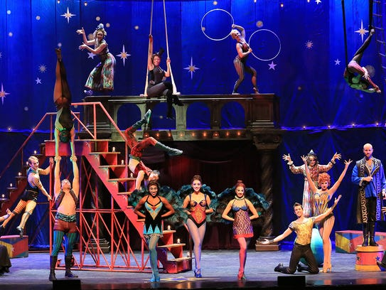 """A national tour of """"Pippin"""" visits Broadway Palm for"""