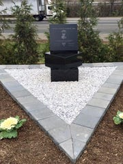 Monument dedicated to New Jersey State Trooper Werner