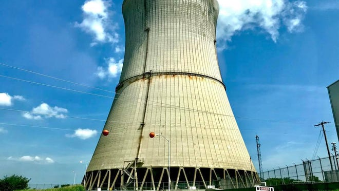 The Davis-Besse Nuclear Power Station in Carroll Township