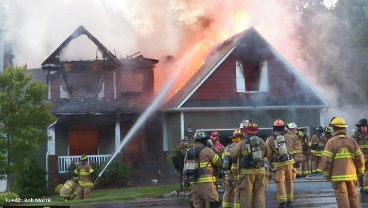 Colfax house fire