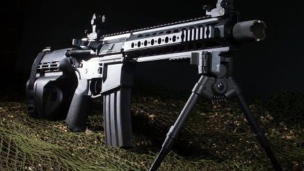 AR-15 semi-automatic rifles are legal in New Jersey with some modifications.