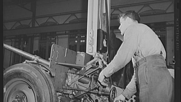 This photo in the Yale series is identified. It's Gerald Smith at York Safe & Lock. But many photos in the series are not identified.