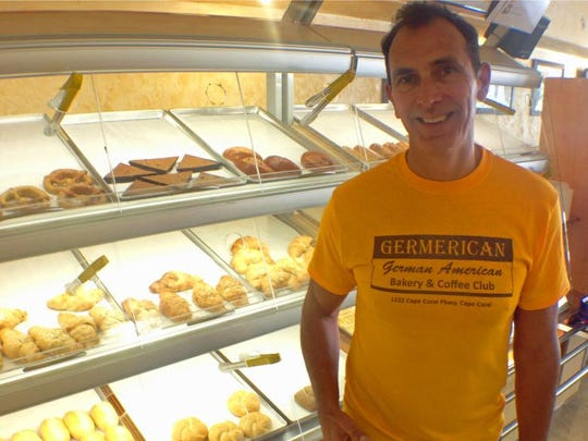 Michael Heere is co-owner of the German American Bakery Club, otherwise known as Germerican, in downtown Cape Coral.