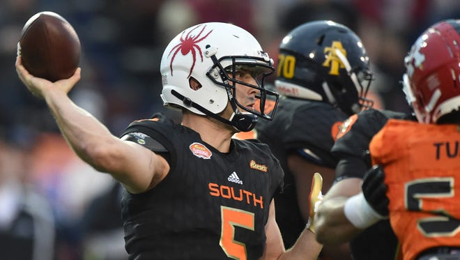 Richmond QB Kyle Lauletta made the most of his Senior Bowl experience.