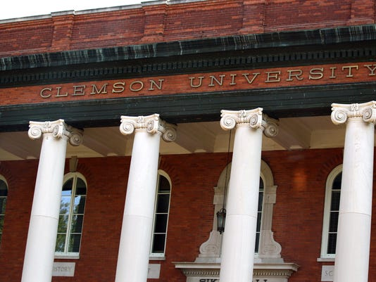 Stock  Pickens County SC Clemson Sikes Hall