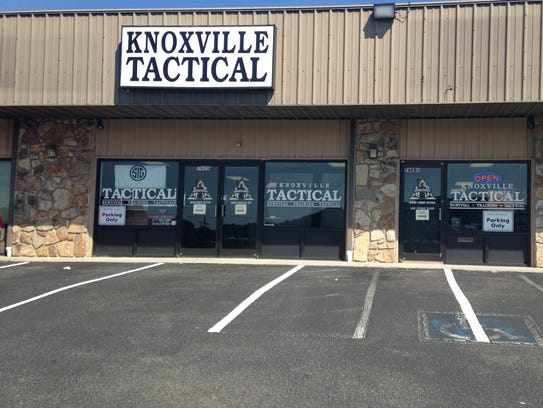 An outside view of Knoxville Tactical in Powell